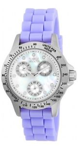 【送料無料】 womens invicta 21969 speedway purple silicone strap watch