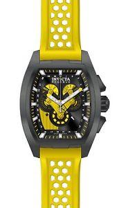 【送料無料】27088 invicta 47mm mens reserve yellow stainless steel watch