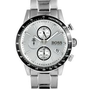 hugo boss rafale competitive sport chronograph watch 1513511