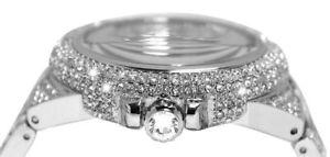 original michael kors mk5869 damenuhr camille kristall edelstahl neu amp; ovp