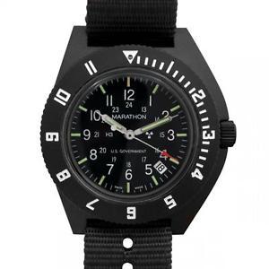【送料無料】us military pilot watch aviation marathon navigator date, 2nd timezone, h3,