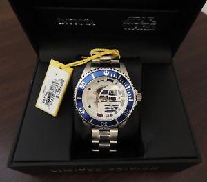 【送料無料】1,395 men limited edition star wars invicta steel automatic watch 26596 r2 d2