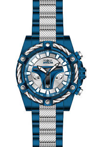 【送料無料】invicta 27969 mens star wars jango fett quartz chrono watch