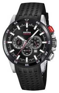 【送料無料】festina 2018 chronobike rubber strap f203534 watch 7