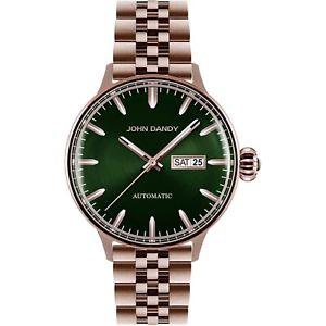 【送料無料】orologio uomo classico vintage john dandy jd2571m05m