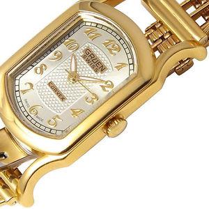 送料無料 luxury gruen swiss brand 激安☆超特価 watch stainless womens ◆高品質 steel