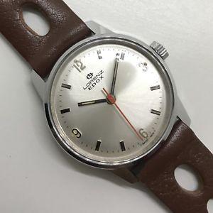 送料無料 8727 vintage watch lorenz edox 大特価!! mai indossato manuale carica 31mm ご注文で当日配送 nos