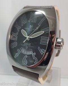 送料無料 orologio mdl montres de luxe ref 公式通販 max automatico big size mm 45 ストア 57 x