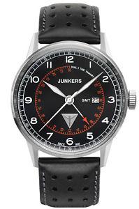 【送料無料】junkers g38 herrenuhr dual time 69462