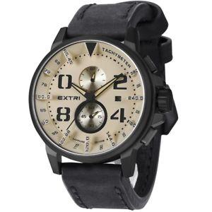 【送料無料】brand extri mens chronograph watch x3003e