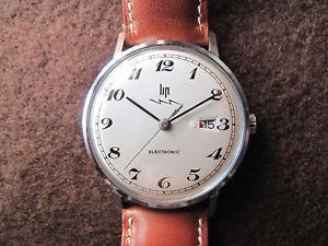 【送料無料】montre lip electronic avertisseur r184 waterproof steel watch chiffres breguet