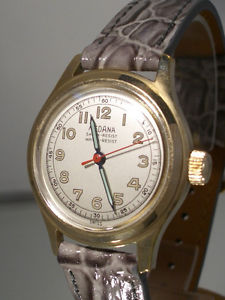 【送料無料】tolle alte vintage medana watch ca 1950 incl box