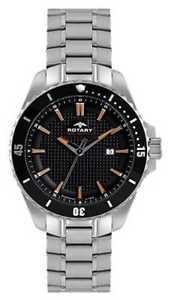 【送料無料】rotary mens analogue stainless steel bracelet agb0029304 watch 7