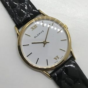 【送料無料】8730 vintage watch glorys mai indossato nos, carica manuale 32mm