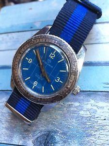 【送料無料】vintage rodania swiss made handwinding mens diver watch 36,2mm