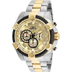送料無料 invicta [並行輸入品] 25518 mens bolt chronograph steel quartz 信頼 watch stainless