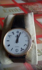 【送料無料】bernex swiss made gents masonic wrist watch immaculate working condition