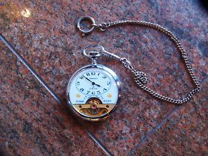 【送料無料】orologio tasca pochet watch hebdomas la martine 8 jours 8 days 8 giorni