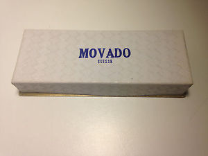 【送料無料】ultra rare chronograph movado m95 watch box
