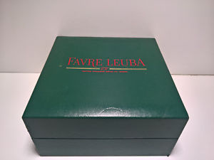 【送料無料】ultra rare vintage favre leuba watch box