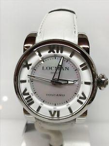 【送料無料】orologio locman toscano ref590w acciaio 920 automatico scontatissimo nuovo