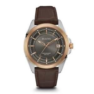 【送料無料】bulova 98b267 mens precisionist wristwatch