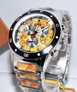 【送料無料】alviero martini 1 classe orologio uomo cronografo in acciaio top gamma pch744