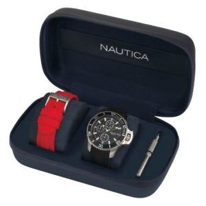 napbys007 orologio uomo nautica bayside box set napbys007