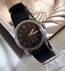 【送料無料】ww2 vintage wristwatch german army wehrmacht recta of period wwii military