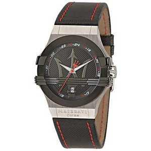【送料無料】orologio solo tempo uomo maserati potenza classico cod r8851108001