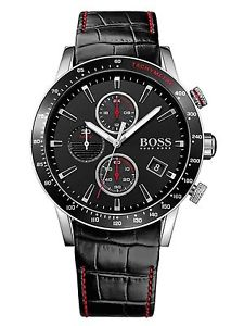 【送料無料】 hugo boss hb 1513390 mens rafale chronograph watch 2 year warranty