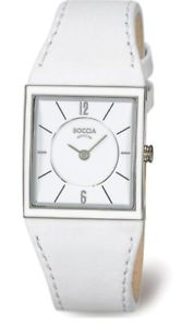 【送料無料】boccia ladies titanium leather strap watch bonp b314803
