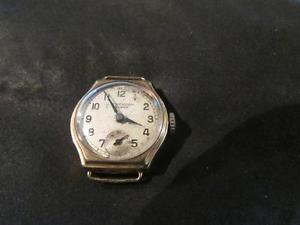 【送料無料】lovely antique ladies 9ct gold j w benson watch, birm,1935