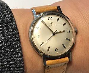 【送料無料】montre bracelet de marque zenith zenith watch boitier en acier fonctionne
