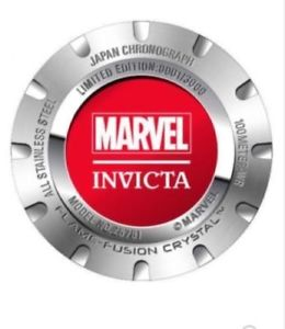 invicta mens marvel quartz stainless steel casual watch 25781