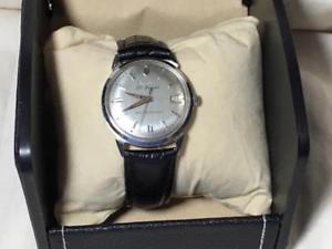 【送料無料】vintage 1964 mens bulova 30 jewels automatic stainless steel watch 10cracd cal