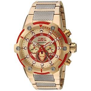 【送料無料】invicta mens marvel quartz stainless steel casual watch 25781