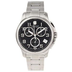 【送料無料】victorinox swiss army mens icers stainless steel watch 241453 241453