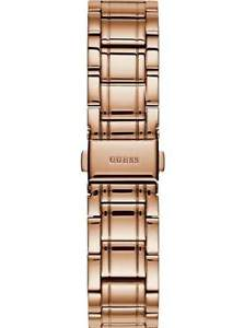 guess rose gold tone automatic stainless steel ladies classic watch u1015l2