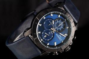 bisset bscd91 argentum chronograph  herrenuhr swiss made