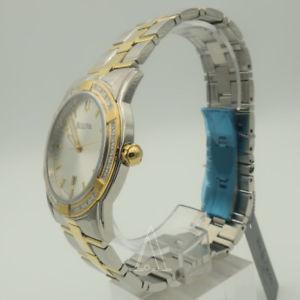 bulova mens quartz watch 98e104po