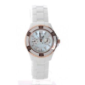 【送料無料】 guess collection gc lady watch rose gold xls glam white ceramic x69003l1s