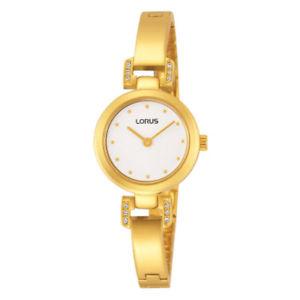 lnp rrw20ex9 lorus ladies swarovski gold plated bracelet watchj