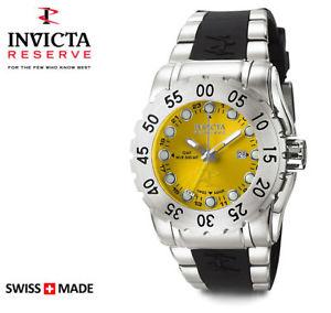 【送料無料】invicta 6648 reserve swiss made gmt mens wr 500m diver watch 1395
