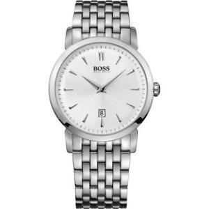 【送料無料】hugo boss 1512719 gents 40mm steel bracelet amp; case mineral glass quartz watch