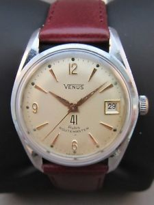 【送料無料】venus routemaster automatic 41 jewels 60