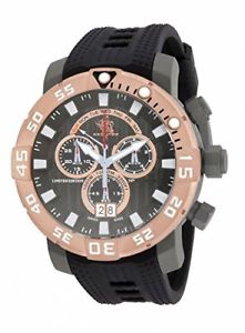 【送料無料】invicta 53mm sea base swiss made chronograph titanium men watch 14260