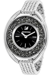 swarovski womens crystalline swiss quartz stainless steel watch 5181664