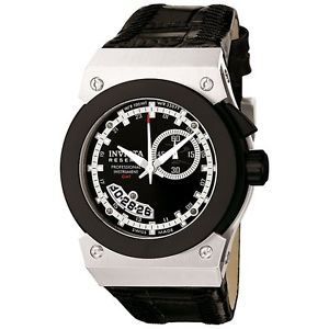 【送料無料】invicta 6447 reserve midsize russian diver akula gmt leather strap watch