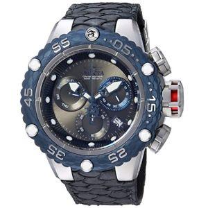 【送料無料】invicta mens subaqua quartz stainless steel and leather casual watch 25068